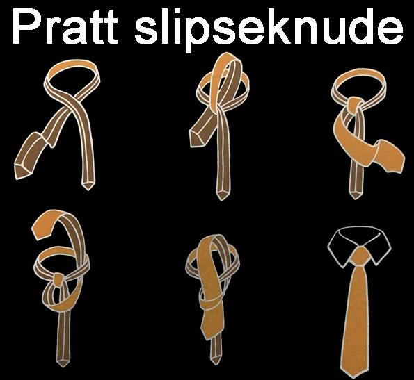 Pratt slipseknude
